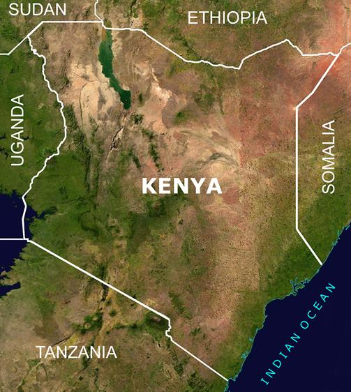 Kenya and Its Neighbors